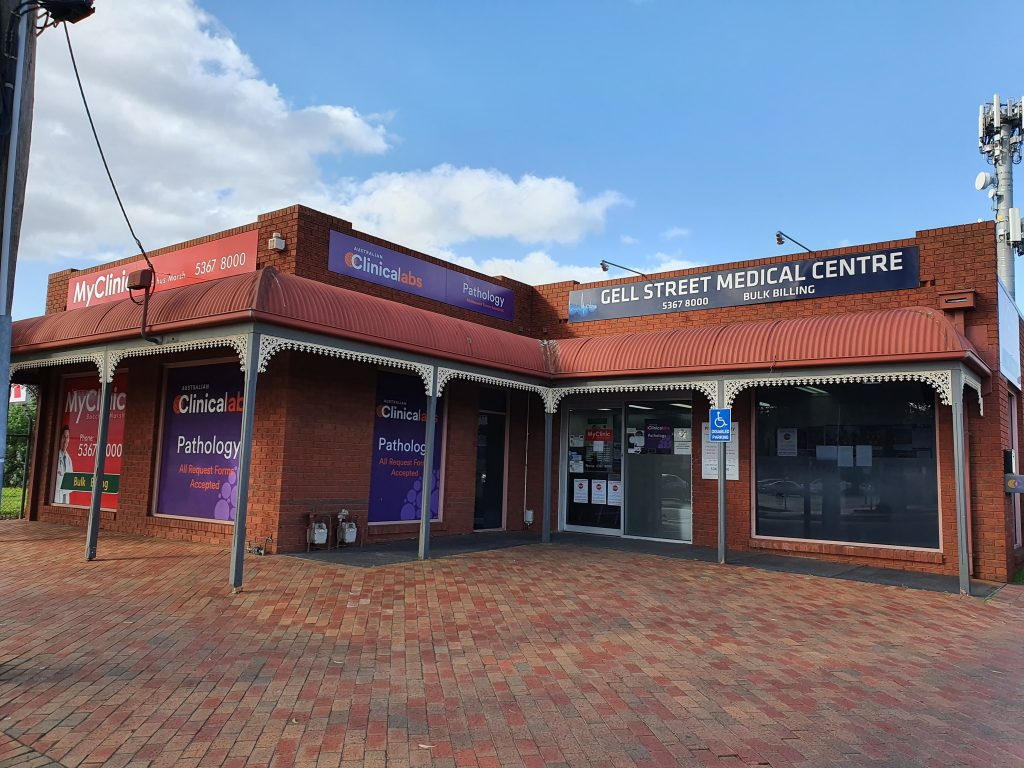 Entrance to MyClinic Group in Bacchus Marsh, Doctors in Melbourne