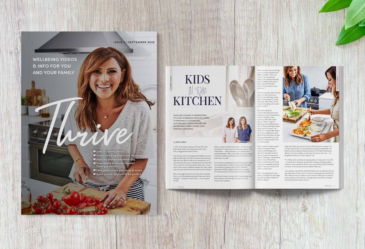 Health and Wellbeing Information in Thrive Magazine, Doctors in Melbourne