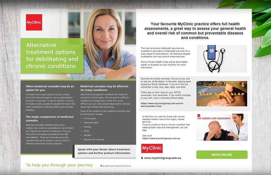 Thrive Magazine Issue 4 brings MyClinic's full health assessment across Melbourne