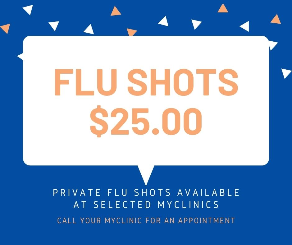 MyClinic offers private flu shots across selected medical centres in Melbourne, Doctors in Melbourne